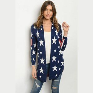 Independence Day Cardigan